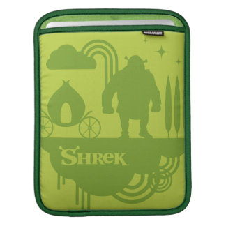Shrek Fairy Tale Silhouette iPad Sleeve