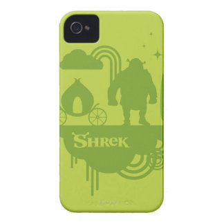 Shrek Fairy Tale Silhouette iPhone 4 Cover