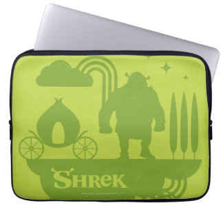 Shrek Fairy Tale Silhouette Laptop Sleeve