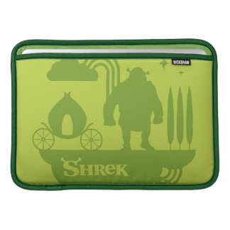 Shrek Fairy Tale Silhouette MacBook Sleeve