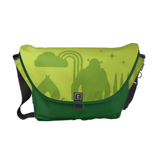 Shrek Fairy Tale Silhouette Messenger Bag