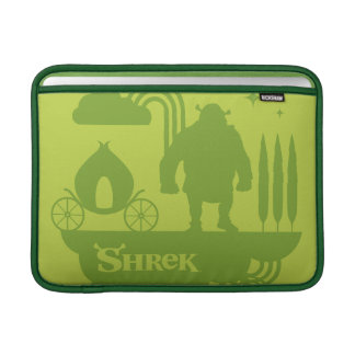 Shrek Fairy Tale Silhouette Sleeve For MacBook Air
