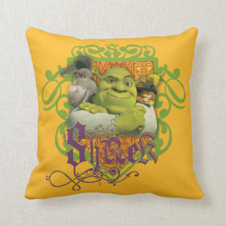 Shrek Group Crest Cushion