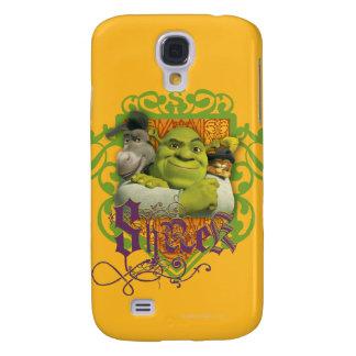 Shrek Group Crest Galaxy S4 Case