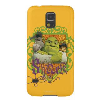 Shrek Group Crest Galaxy S5 Cover