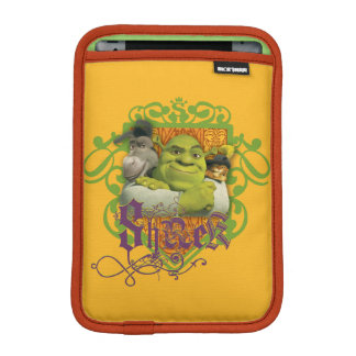 Shrek Group Crest iPad Mini Sleeve