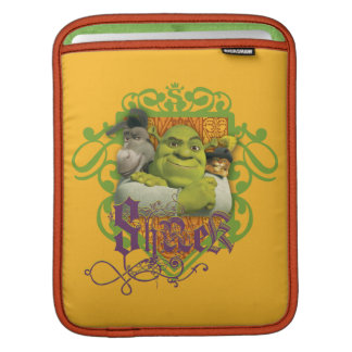 Shrek Group Crest iPad Sleeve