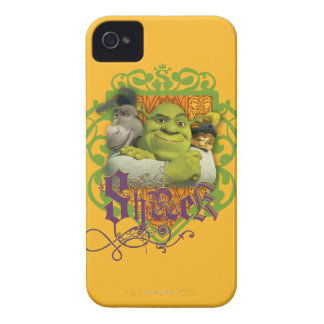 Shrek Group Crest iPhone 4 Cover