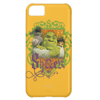Shrek Group Crest iPhone 5C Case