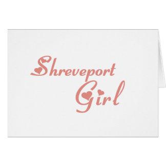 Shreveport Girl tee shirts Card
