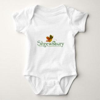 Shrewsbury logos baby bodysuit