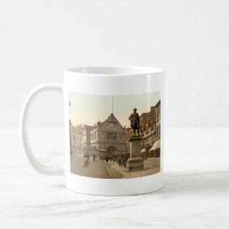 Shrewsbury Square, Shropshire, England Basic White Mug