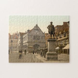 Shrewsbury Square, Shropshire, England Jigsaw Puzzle