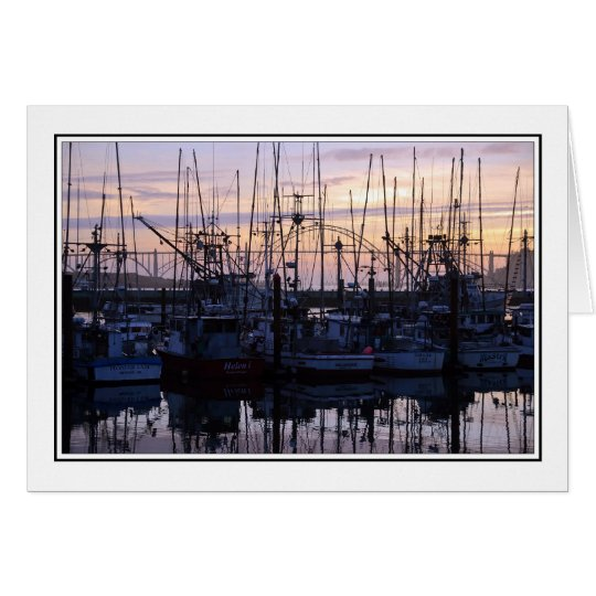 Shrimp Boats Card