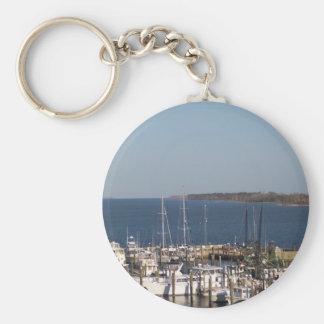 Shrimp boats key ring