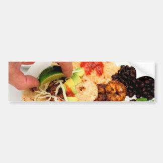 Shrimp Taco Bumper Sticker