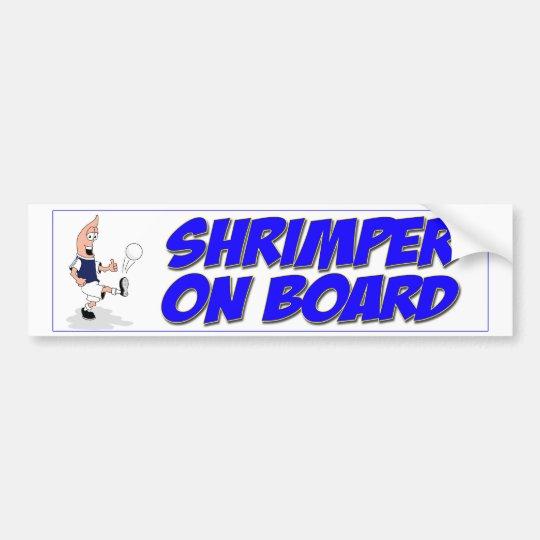 Shrimper Sticker Bumper Sticker