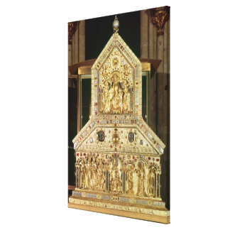 Shrine Containing the Relics Canvas Print