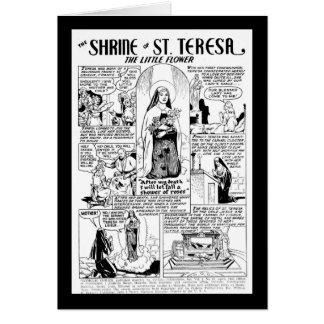 Shrine of Saint Teresa Greeting Card