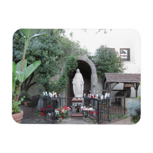 Shrine of the Blessed Mother, Ventura Mission Rectangle Magnet