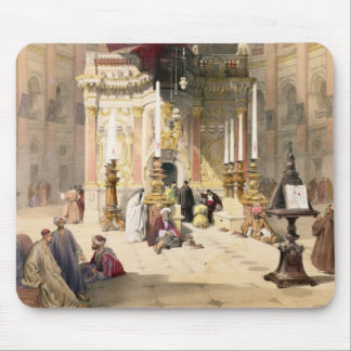 Shrine of the Holy Sepulchre, April 10th 1839, pla Mouse Pad