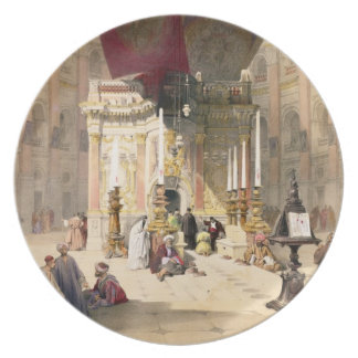 Shrine of the Holy Sepulchre, April 10th 1839, pla Plate