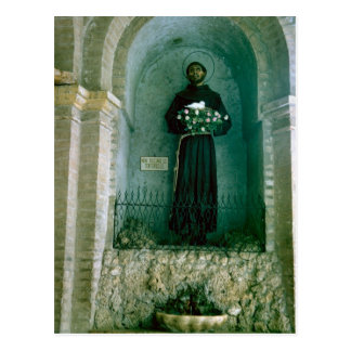 Shrine to St Francis of Assisi Postcard