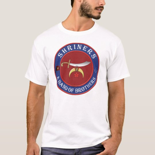 Shriners. A band of Brothers T-Shirt