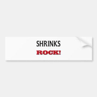 Shrinks Rock Bumper Stickers