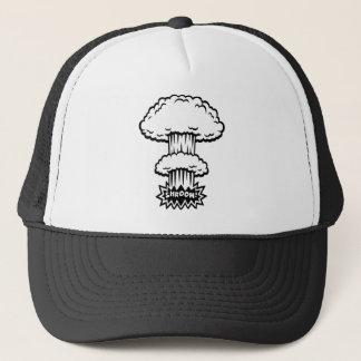 SHROOM! -b/w Trucker Hat