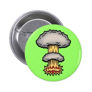 SHROOM! -color 6 Cm Round Badge