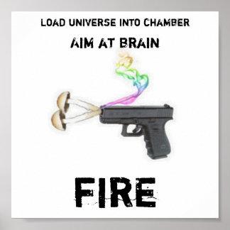 Shroom Gun Poster