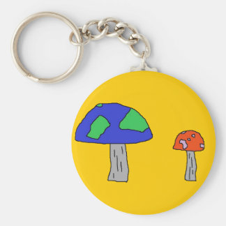 Shroom keychain