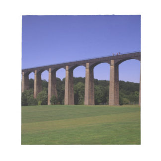 Shropshire Union Canal Aqueduct, Pont Cysyllte, Notepad