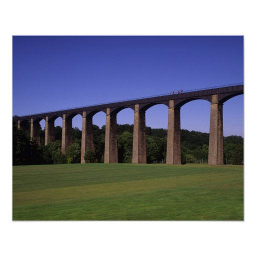 Shropshire Union Canal Aqueduct, Pont Cysyllte, Posters