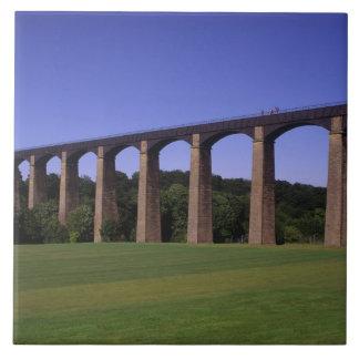 Shropshire Union Canal Aqueduct, Pont Cysyllte, Tile