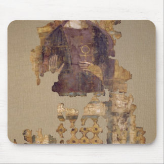 Shroud depicting a woman holding an ankh mouse pad