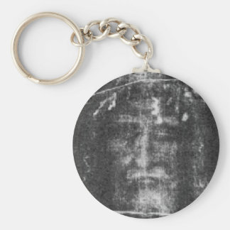 Shroud Of Turin Basic Round Button Key Ring