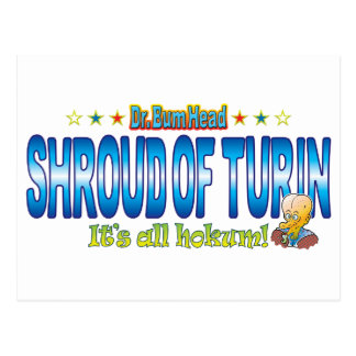 Shroud of Turin Dr. B Head Postcard