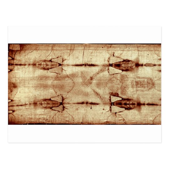 Shroud of Turin, Frontal View Postcard