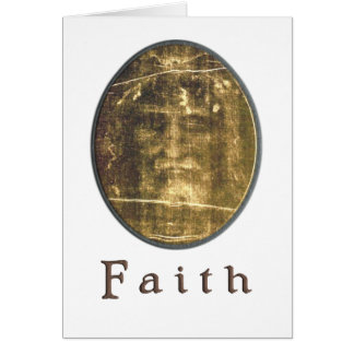 Shroud of Turin gifts Greeting Card