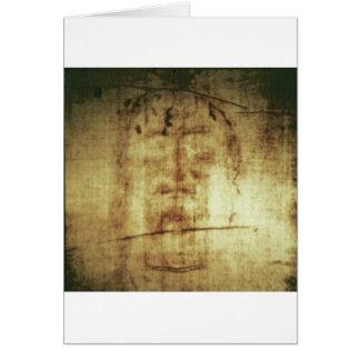 Shroud of Turin Greeting Card
