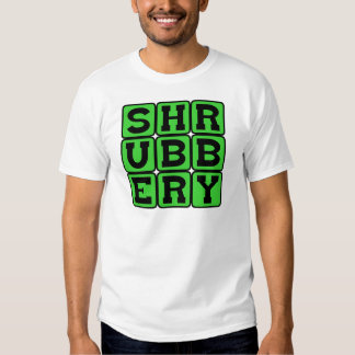 Shrubbery, The Holy Grail of Plant Life T Shirt