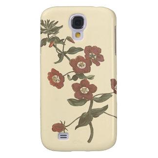 Shrubby Pimpernel Botanical Illustration Galaxy S4 Case