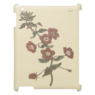 Shrubby Pimpernel Botanical Illustration iPad Cases
