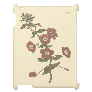 Shrubby Pimpernel Botanical Illustration iPad Covers