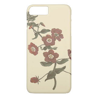 Shrubby Pimpernel Botanical Illustration iPhone 7 Plus Case