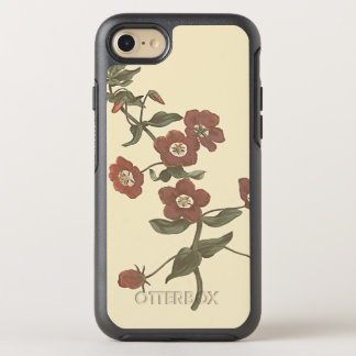 Shrubby Pimpernel Botanical Illustration OtterBox Symmetry iPhone 7 Case