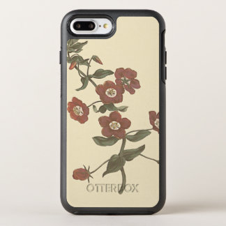 Shrubby Pimpernel Botanical Illustration OtterBox Symmetry iPhone 7 Plus Case