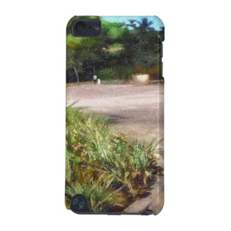 Shrubs and road iPod touch (5th generation) covers